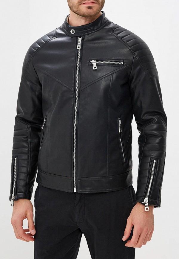 мужская куртка guess by marciano, черная