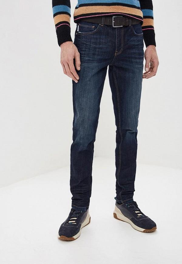 мужские зауженные джинсы guess by marciano, синие