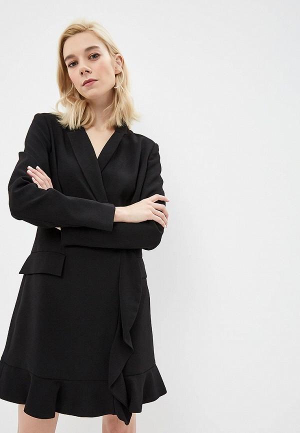 женское платье guess by marciano, черное