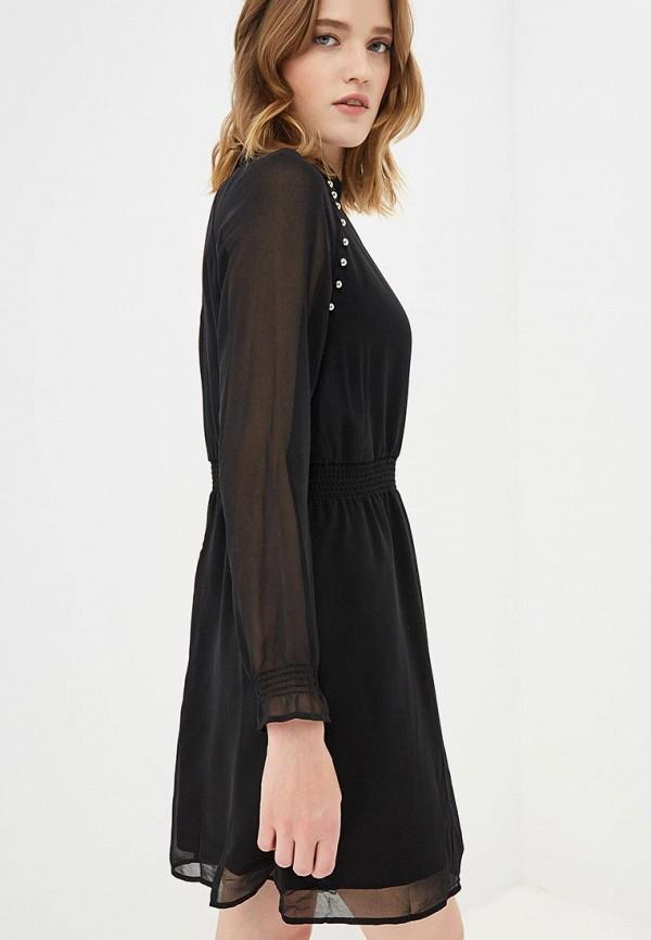 женское повседневные платье guess by marciano, черное