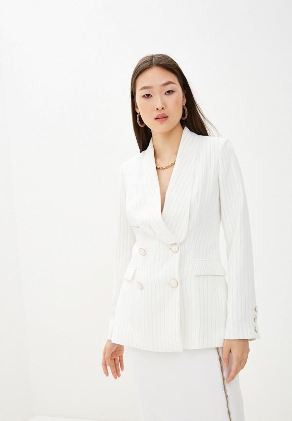 женский пиджак guess by marciano, белый