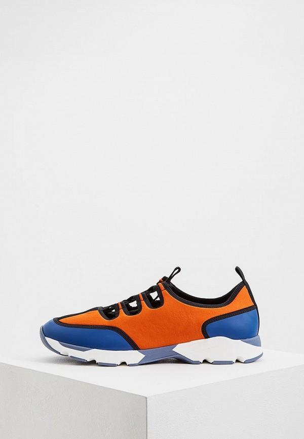 мужские кроссовки marni, оранжевые