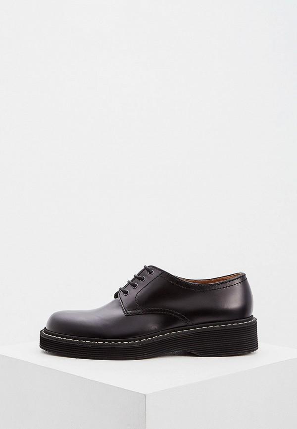 мужские низкие ботинки marni, черные