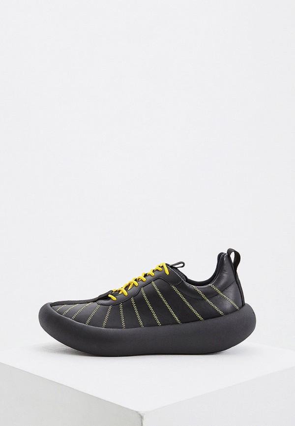 мужские низкие кроссовки marni, черные