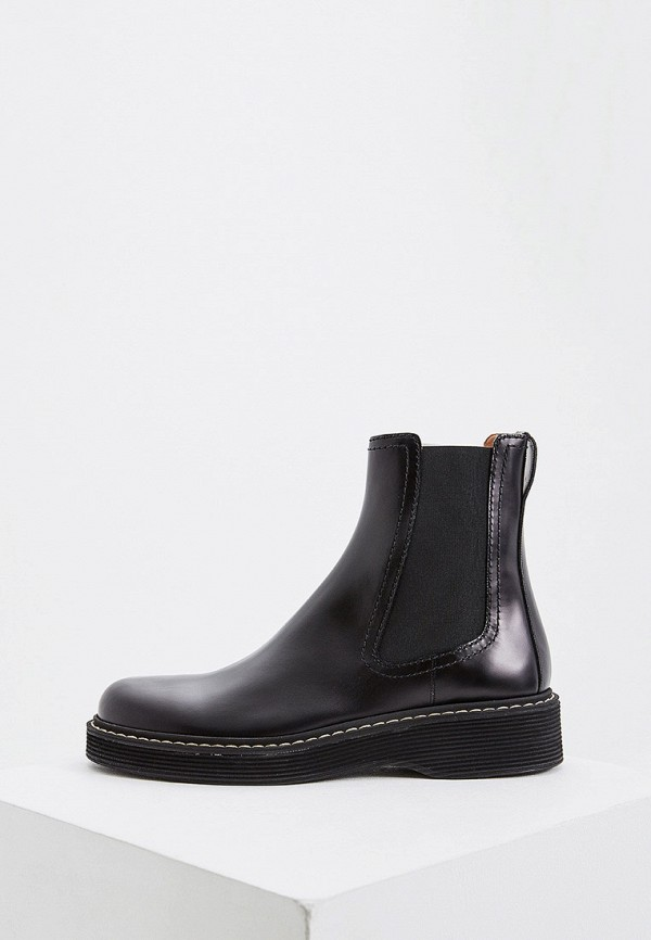 мужские ботинки marni, черные