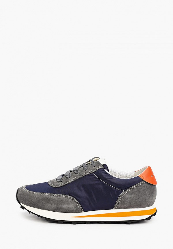 мужские низкие кроссовки marni, синие