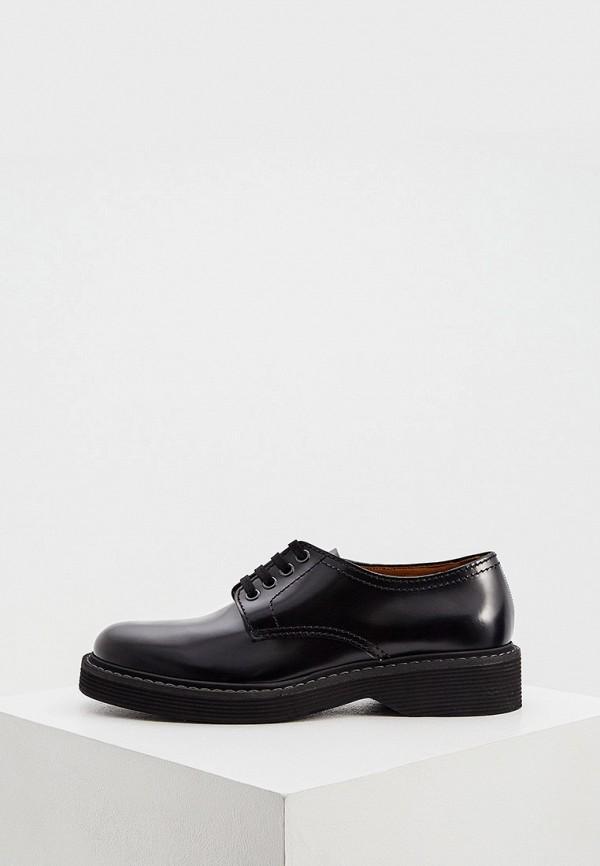 мужские туфли marni, черные
