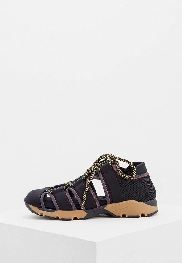женские кроссовки marni, черные