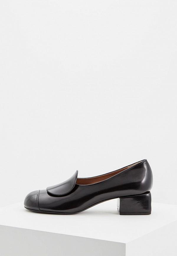женские туфли marni, черные
