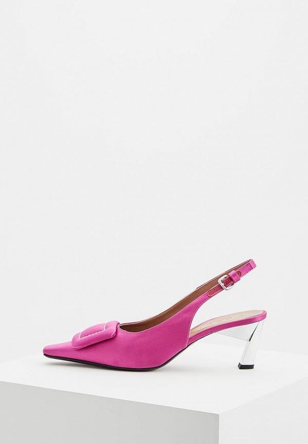 женские туфли marni, розовые