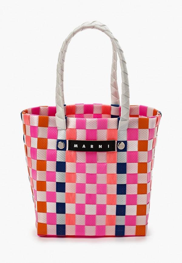 сумка marni для девочки, разноцветная