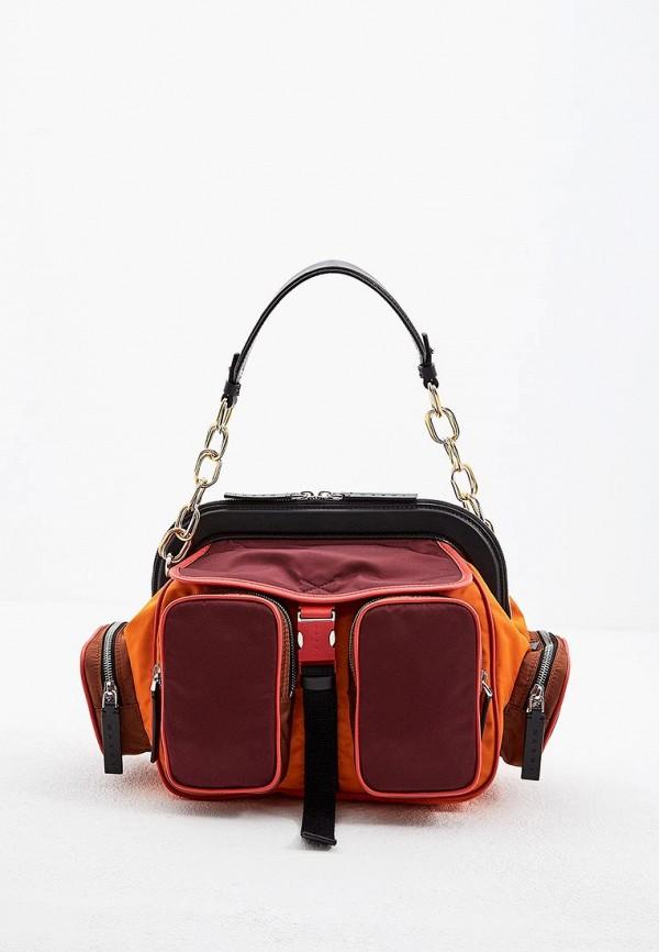 Сумка Marni Marni MA177BWBOWT5 marni кожаная сумка с круглой ручкой