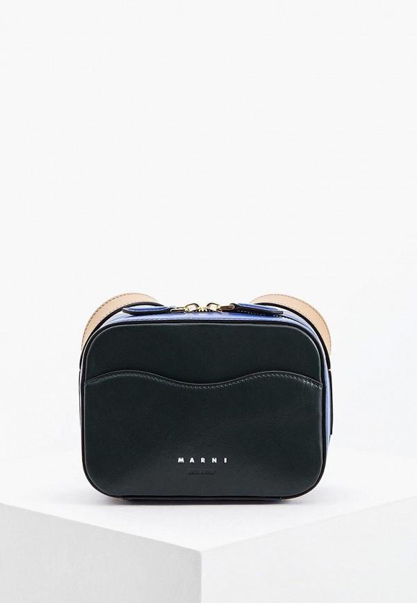 Сумка Marni Marni MA177BWBOWT7 marni кожаная сумка с круглой ручкой