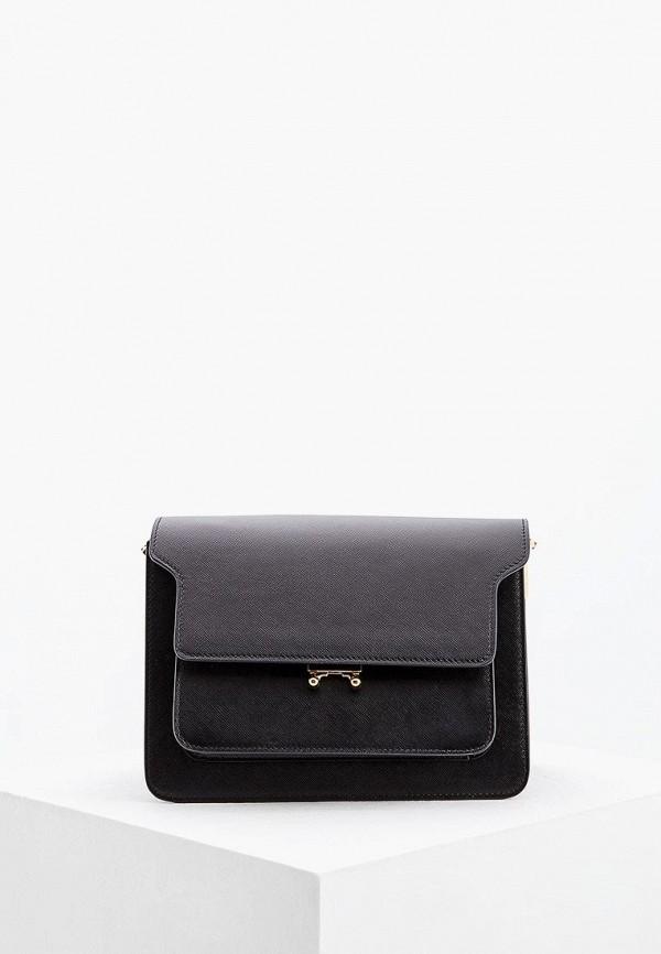 женская сумка marni, черная