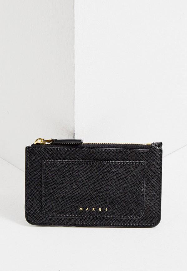 женский кошелёк marni, черный