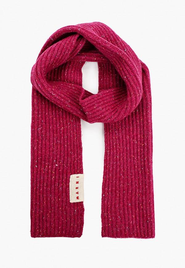 шарф marni для девочки, розовый