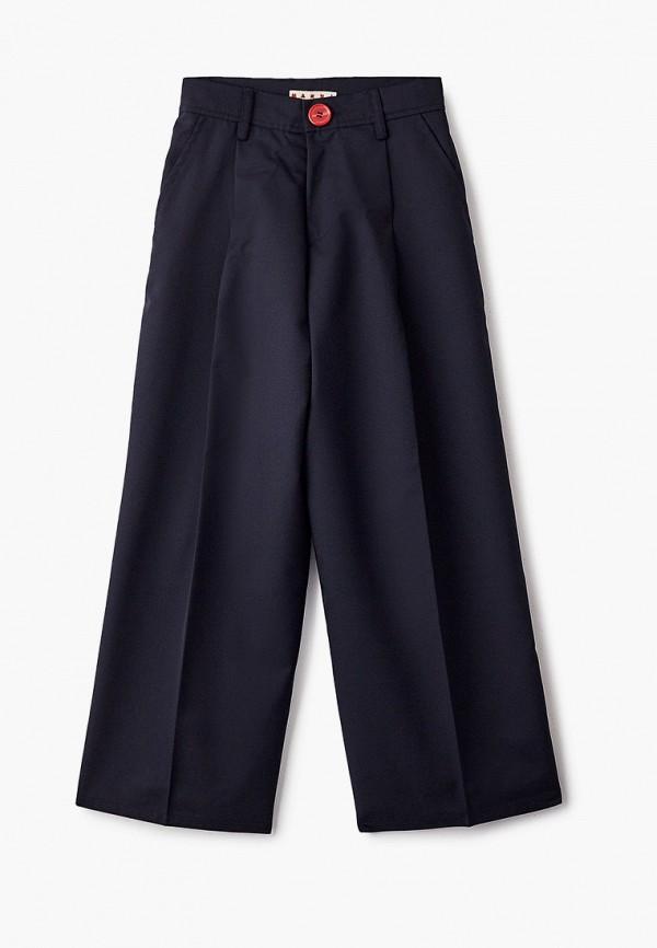 брюки marni для девочки, синие