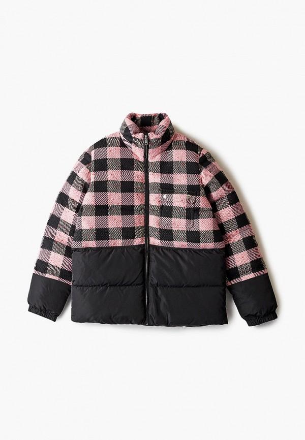 куртка marni для девочки, розовая