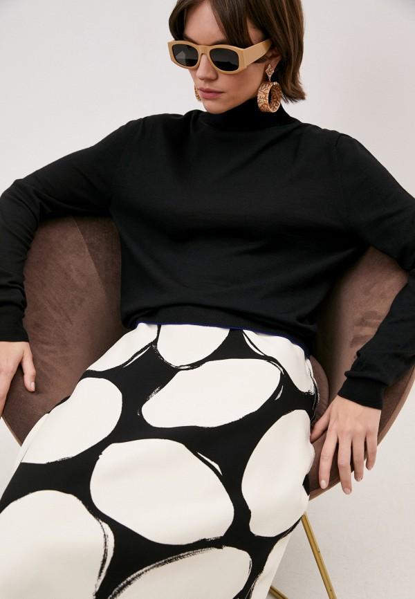 женская водолазка marni, черная