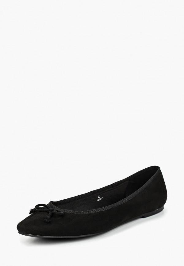 женские балетки marks & spencer, черные