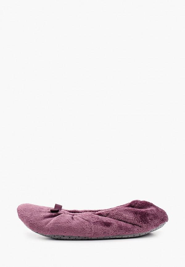 женские тапочки marks & spencer, фиолетовые