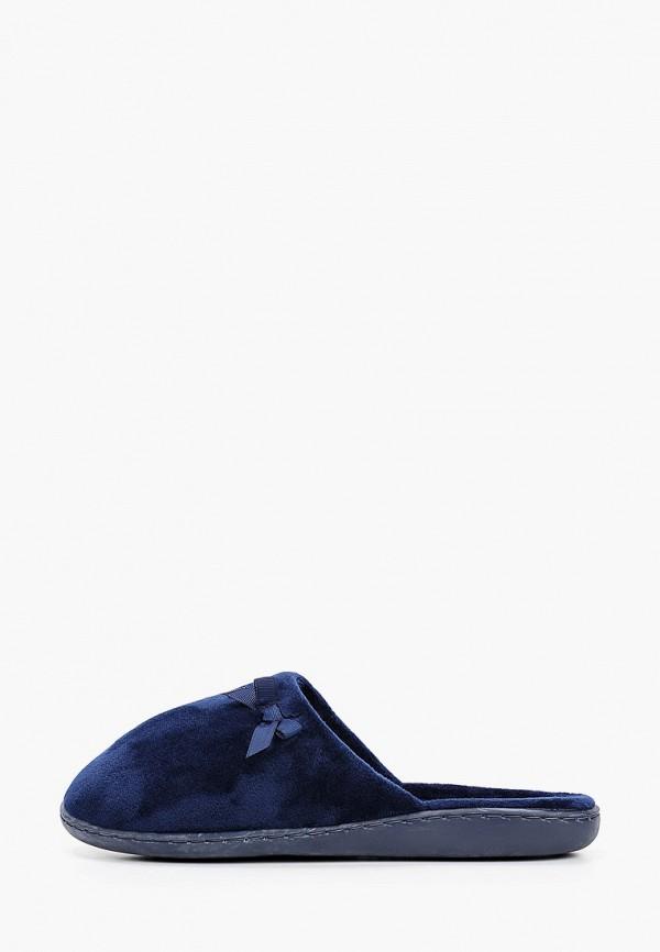 женские тапочки marks & spencer, синие