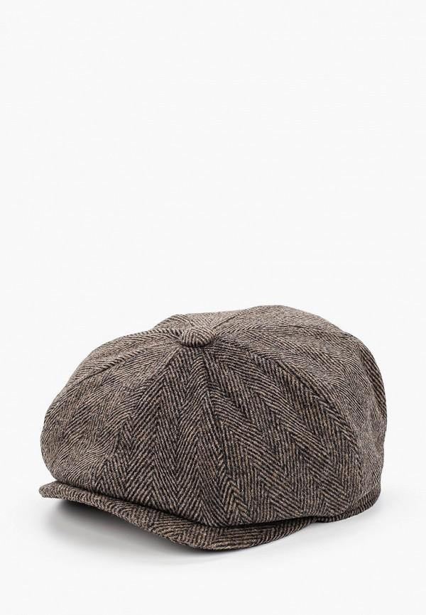 мужская кепка marks & spencer, коричневая