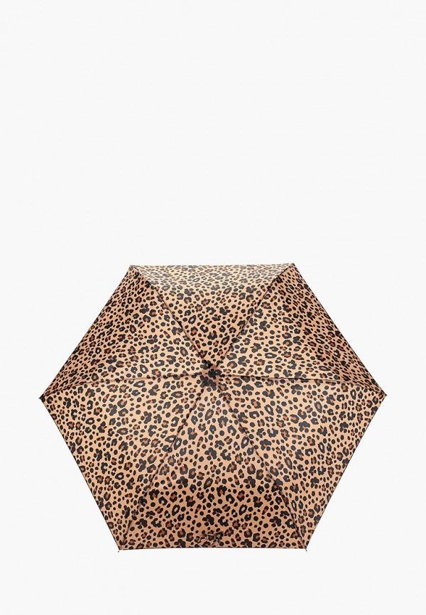 Фото - Зонт складной Marks & Spencer коричневого цвета