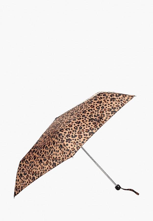 Фото 2 - Зонт складной Marks & Spencer коричневого цвета