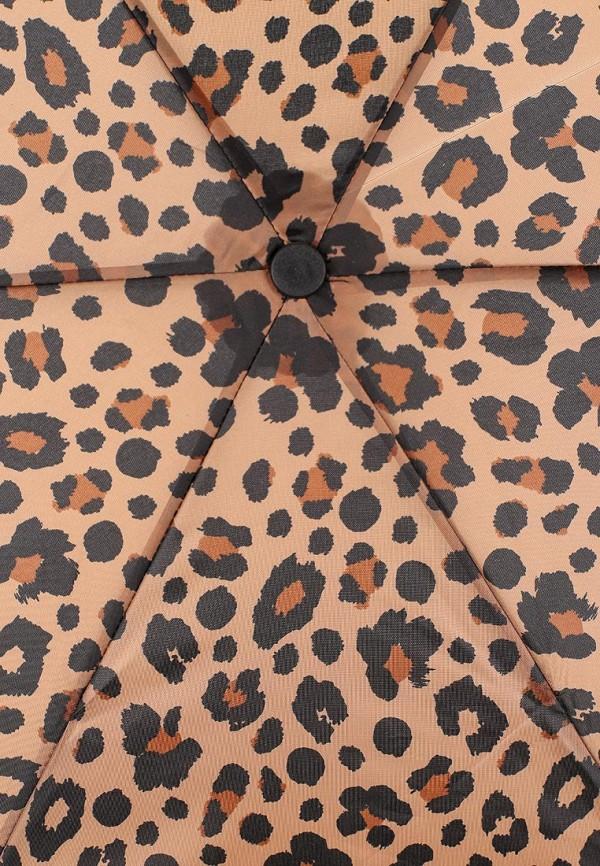 Фото 3 - Зонт складной Marks & Spencer коричневого цвета