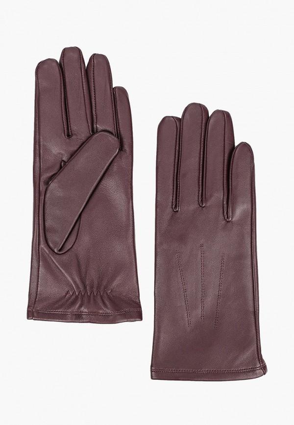 женские перчатки marks & spencer, бордовые