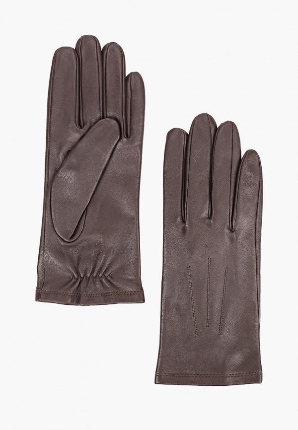 женские перчатки marks & spencer, коричневые