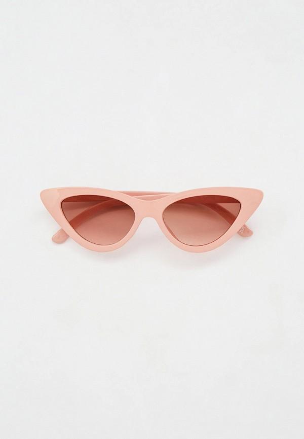 женские солнцезащитные очки marks & spencer, розовые