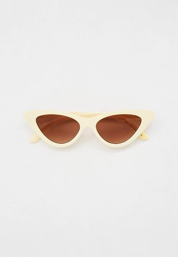 женские солнцезащитные очки marks & spencer, белые