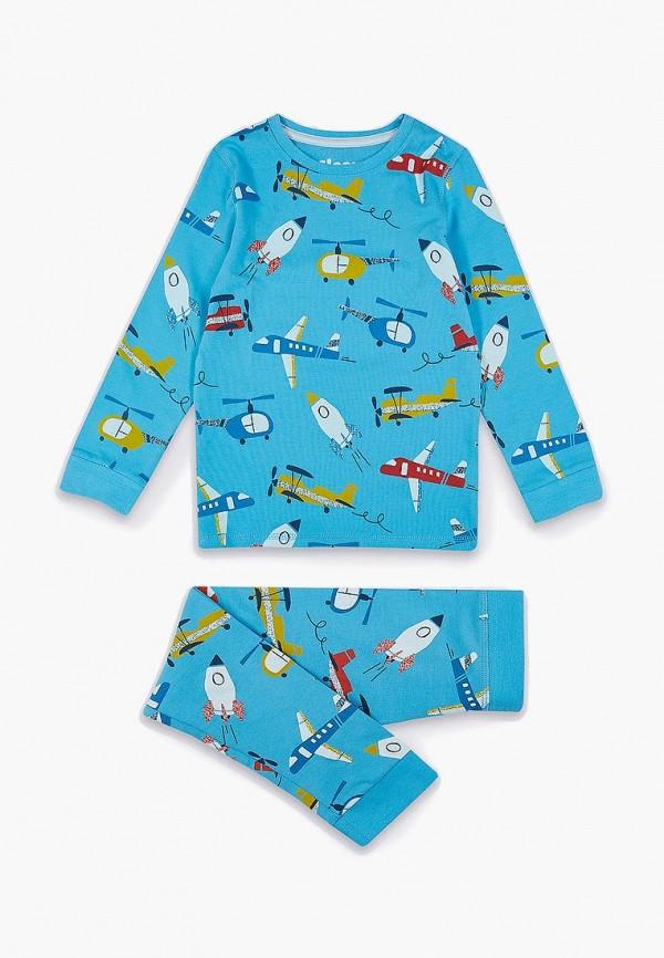 Купить Пижама Marks & Spencer, ma178ebefvt8, голубой, Весна-лето 2019