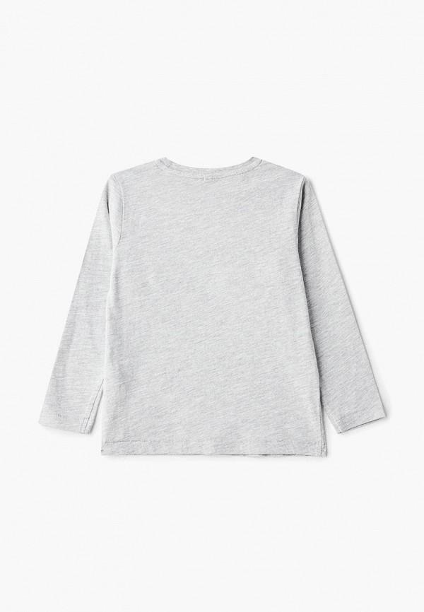 Фото 2 - Лонгслив Marks & Spencer серого цвета