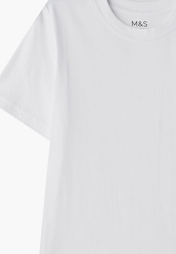 Фото 3 - Комплект Marks & Spencer белого цвета