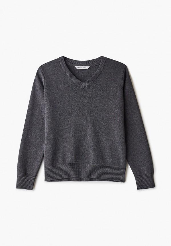 пуловер marks & spencer для мальчика, серый