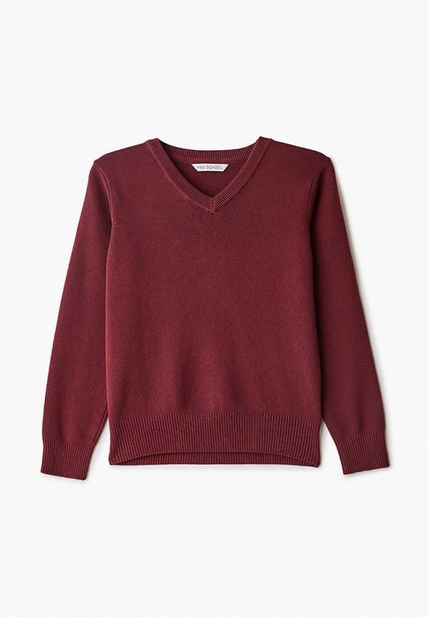 пуловер marks & spencer для мальчика, бордовый