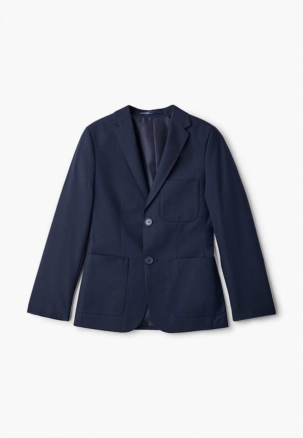 Пиджак Marks & Spencer Marks & Spencer T767037F0 синий фото