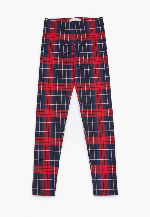 брюки marks & spencer для девочки, красные