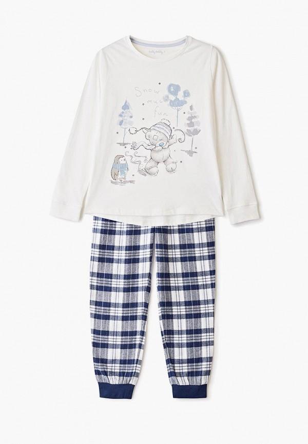пижама marks & spencer для девочки, разноцветная