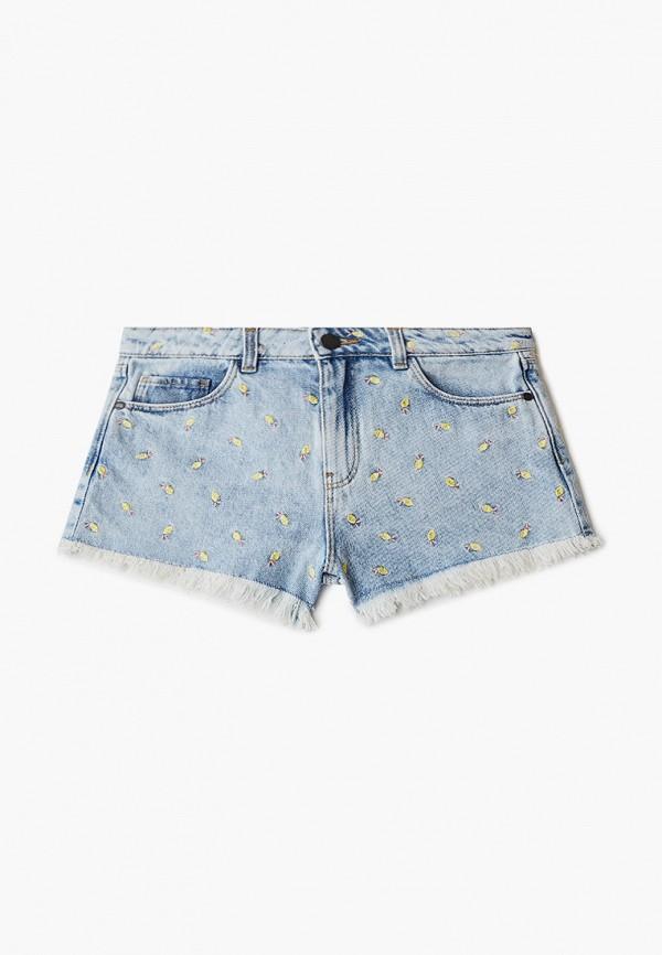 шорты marks & spencer для девочки, голубые