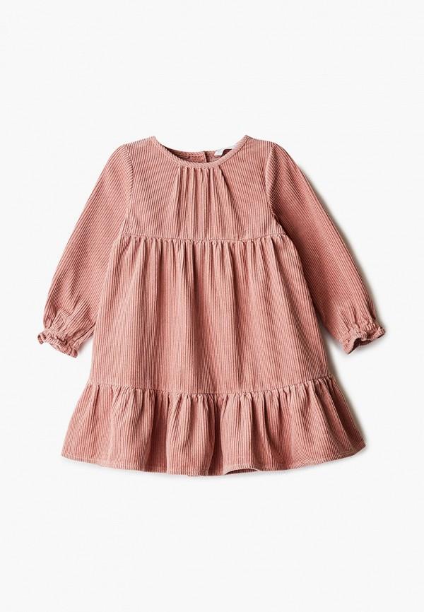 повседневные платье marks & spencer для девочки, розовое