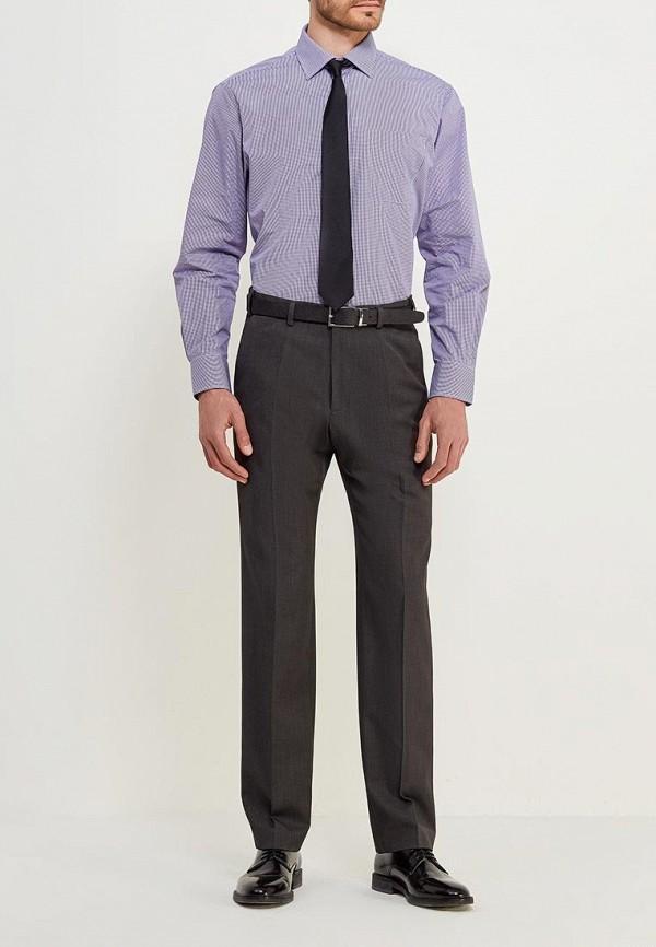 Фото 2 - Рубашку Marks & Spencer фиолетового цвета