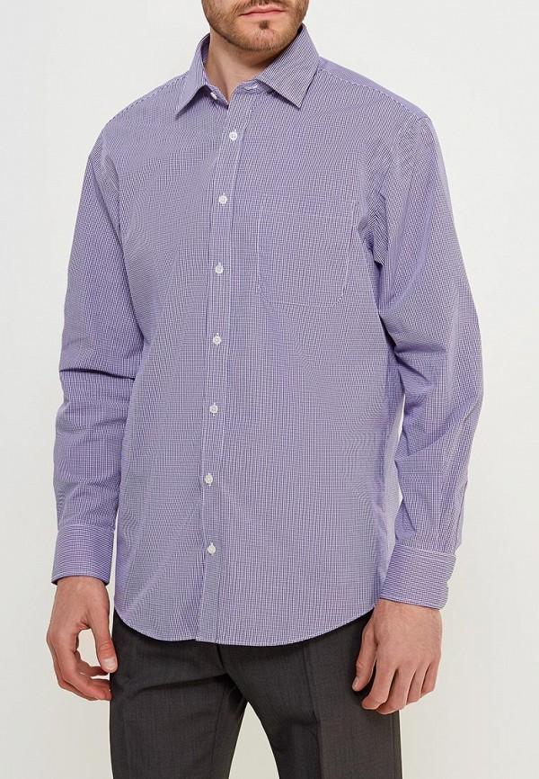 Фото 4 - Рубашку Marks & Spencer фиолетового цвета