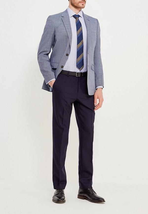 Фото 2 - Пиджак Marks & Spencer синего цвета