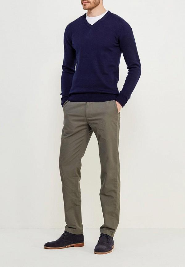 Фото 2 - Пуловер Marks & Spencer синего цвета