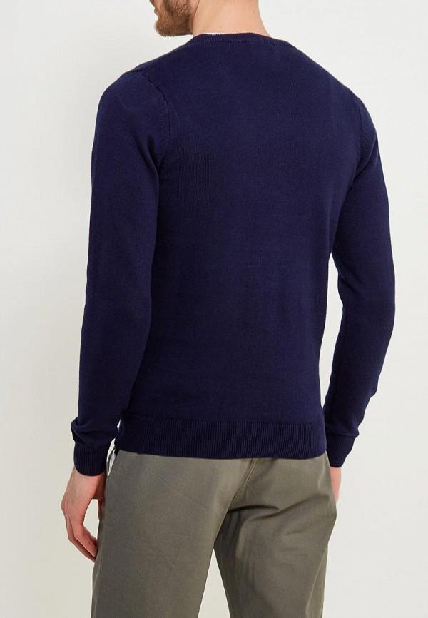 Фото 3 - Пуловер Marks & Spencer синего цвета