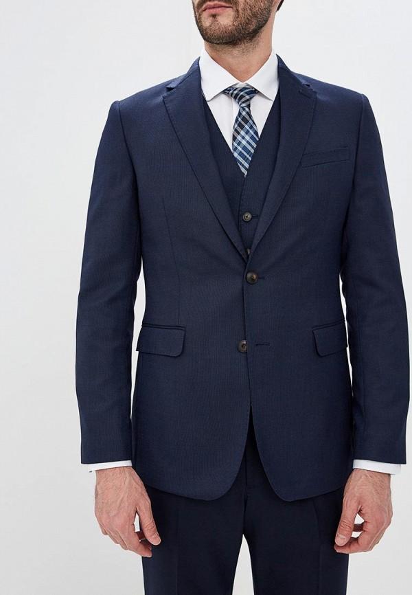 мужской пиджак marks & spencer, синий